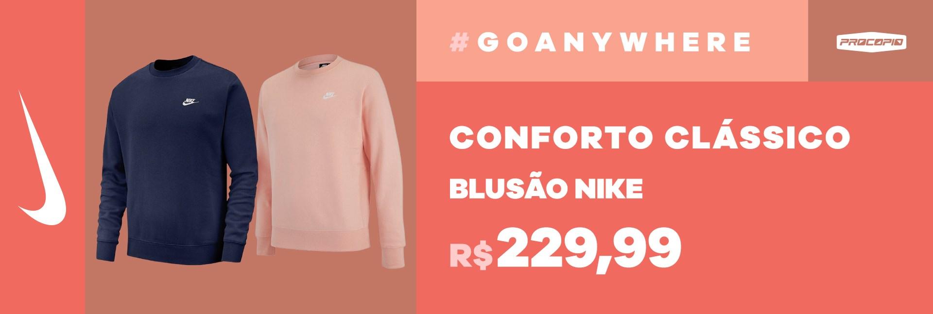 Blusão Nike Moletom Sportswear Club