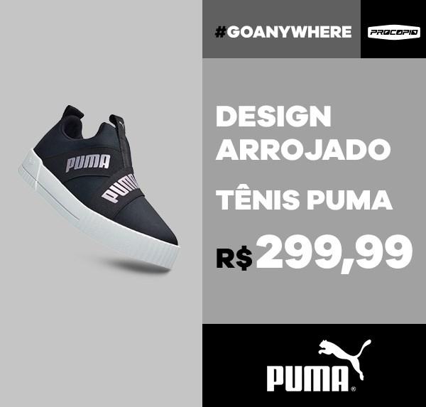 Tênis Puma Carina Slip-On