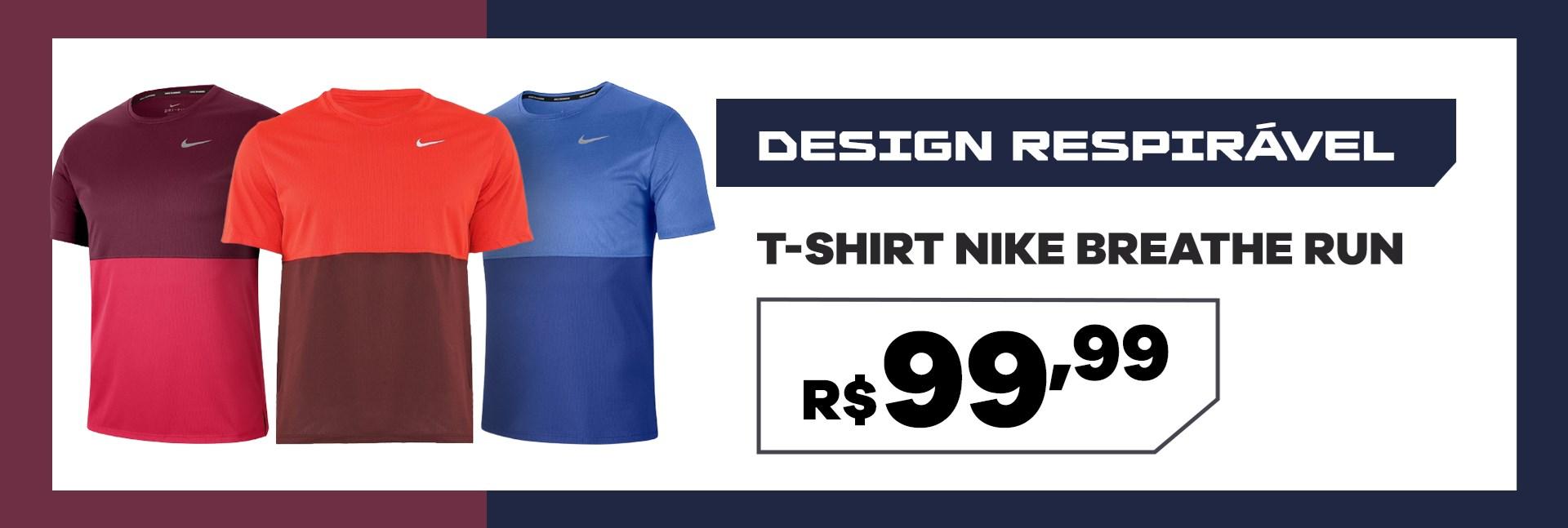 T Shirt Nike Breathe Run