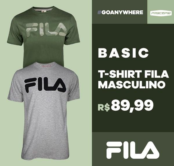 Camiseta Fila Basic Letter II