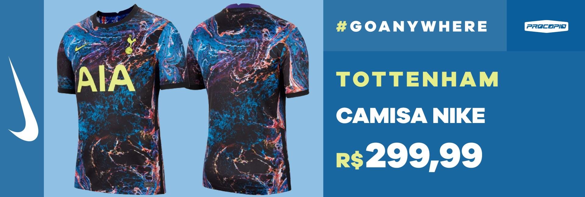 Camisa Nike Tottenham I/II 2021/22 Torcedor