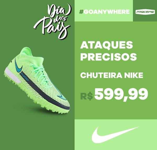 Chuteira Nike Phantom GT Academy DF TF