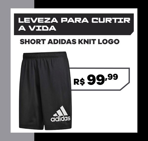 Short adidas Knit Logo
