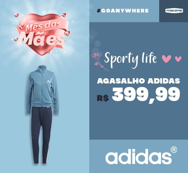 Agasalho adidas Team Sports Feminino