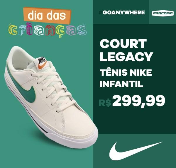 Tênis Nike Court Legacy Infantil