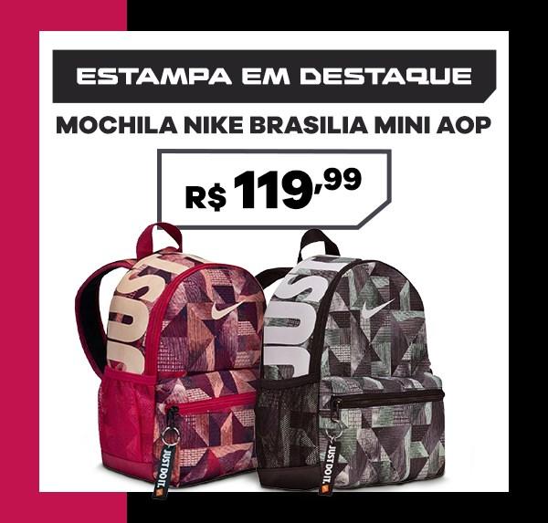 Mochila Nike Brasilia Mini AOP