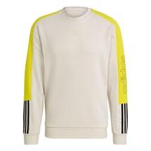 Blusão adidas Moletom Essentials French Terry Logo Colorblock Masculino