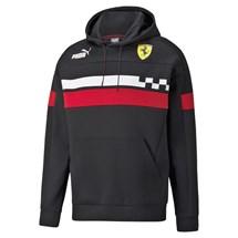 Blusão Moletom Com Capuz Scuderia Ferrari Race SDS Masculino