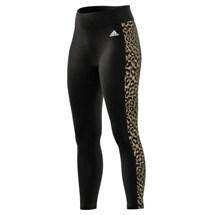 Calça adidas Legging 7/8 Estampa Leopardo Designed To Move Aeroready Feminino