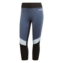 Calça Adidas Legging Design 2 Move Colorblock 3/4 Feminino