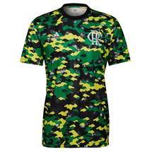 Camisa adidas CR Flamengo 1 Pré-Jogo Masculino