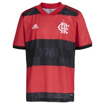 Camisa adidas CR Flamengo I 2021/22 Infantil