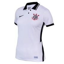 Camisa Nike Corinthians I-II  2020/21 Torcedora Pro Feminino