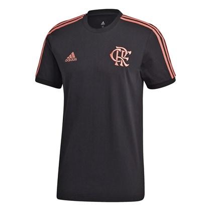 Camiseta adidas CR Flamengo 3-Stripes Masculino