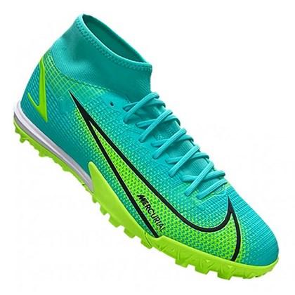 Chuteira Nike Mercurial Superfly 8 Academy TF Society Masculino