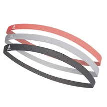 Kit adidas de Faixa de Cabeca com 3 faixas