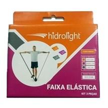 Kit Hidrolight Faixas Elasticas com 3 Unidades